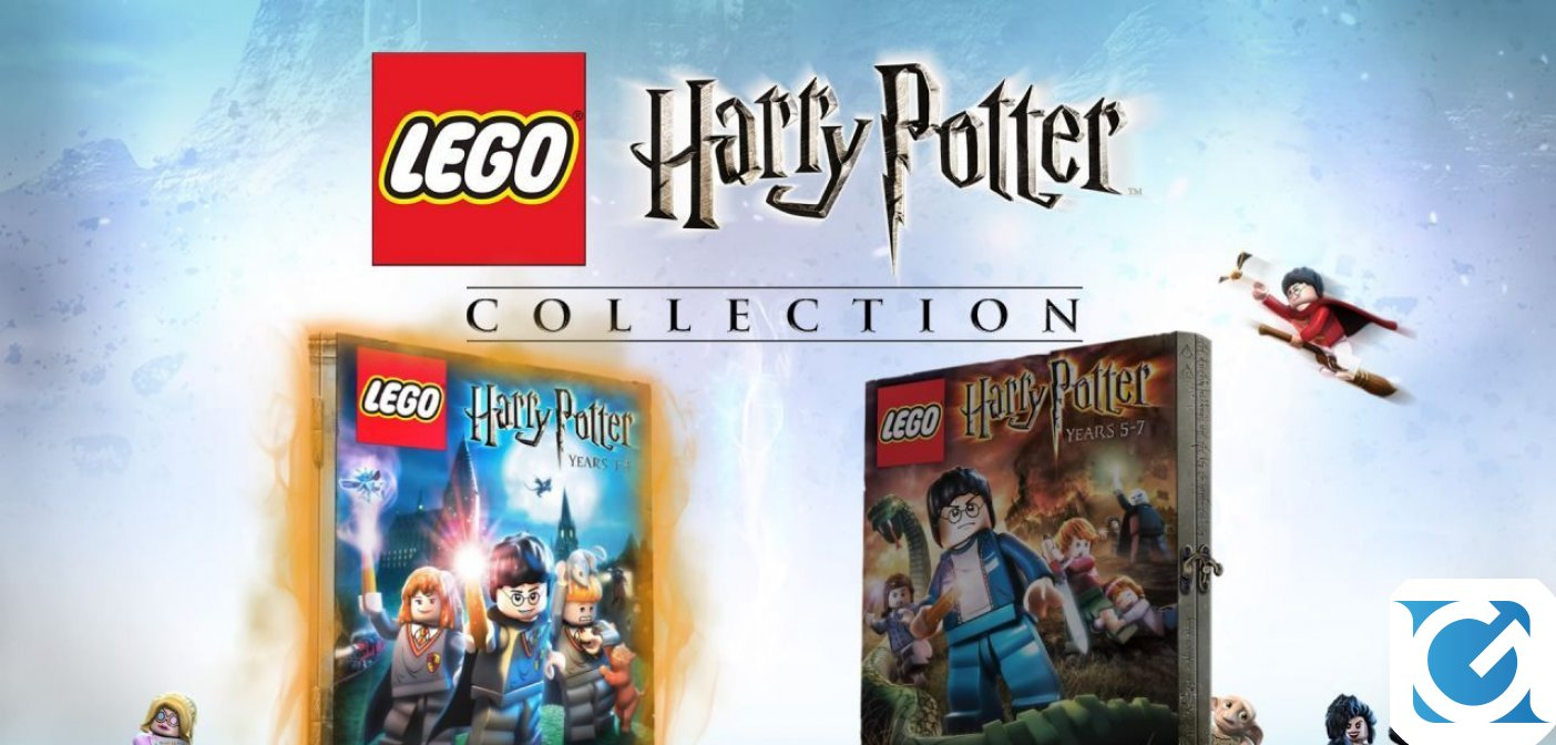 LEGO Harry Potter Collection è disponibile dal 2 novembre su XBOX One e Switch