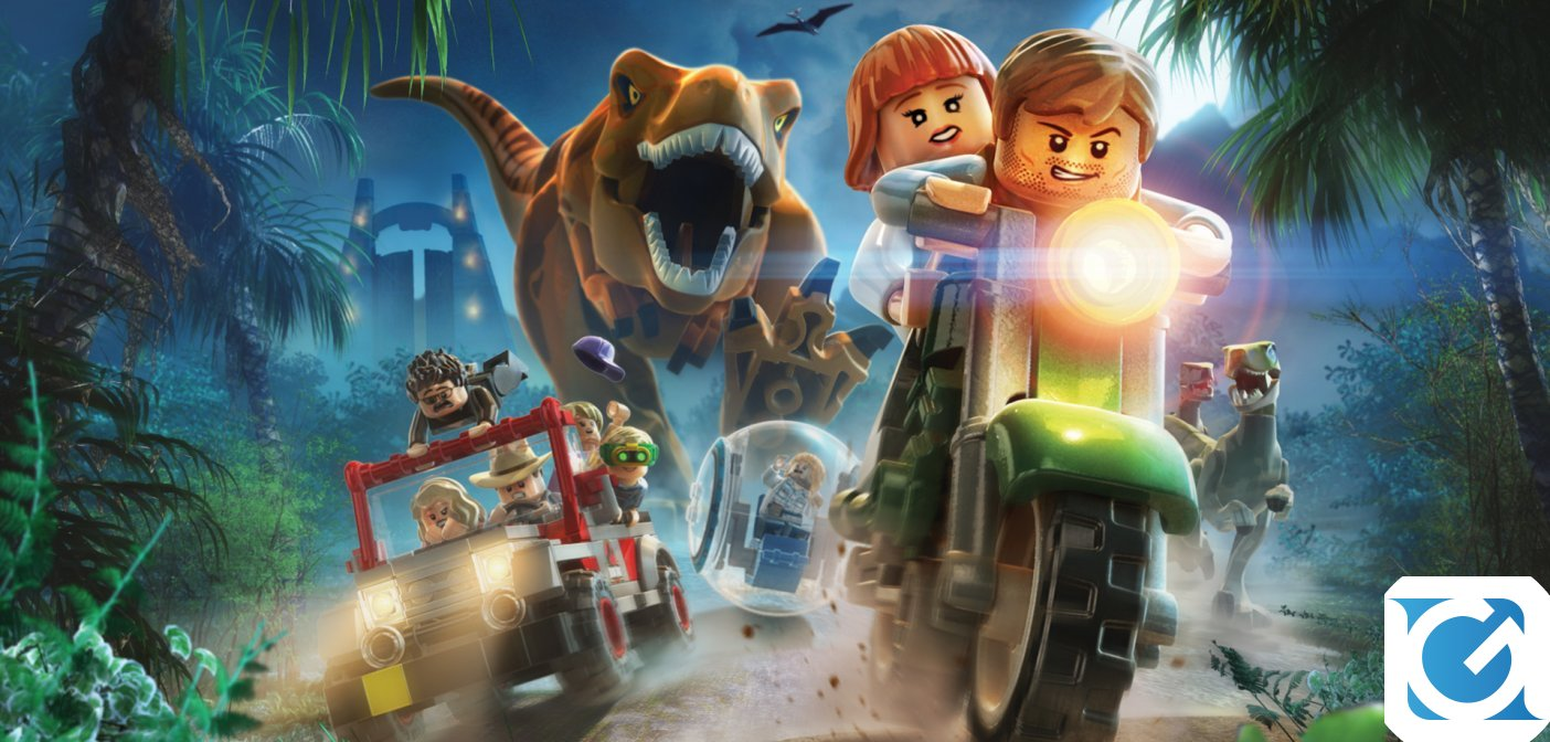 LEGO Jurassic World arriverà su Nintendo Switch