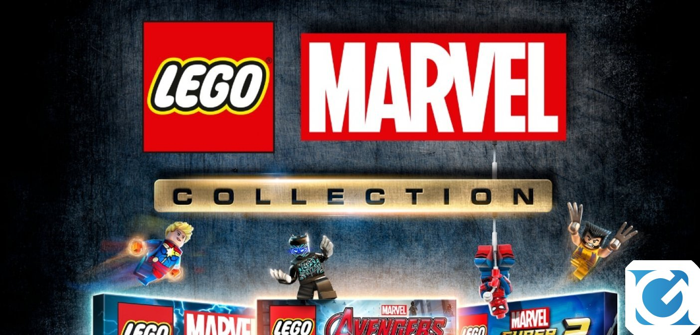 LEGO Marvel Collection è disponibile per PS4 e XBOX One