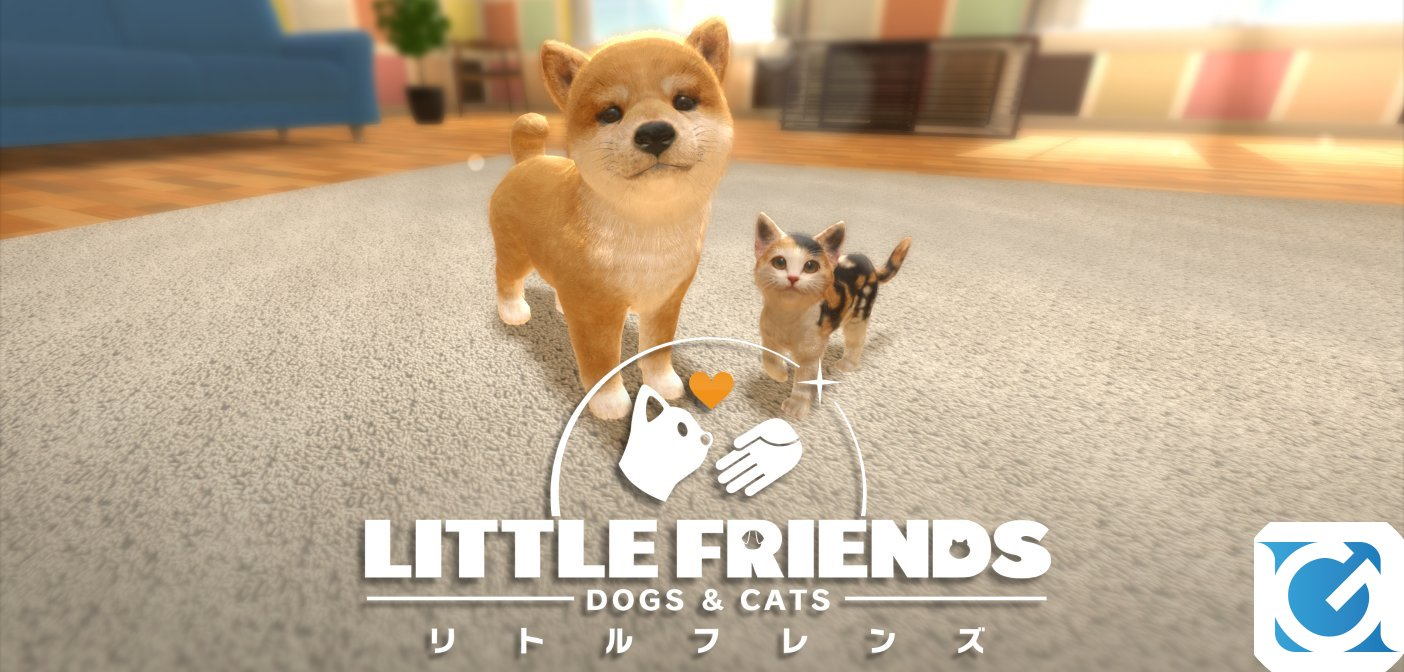 LITTLE FRIENDS: DOGS & CATS ecco il primo pet-sim per Switch