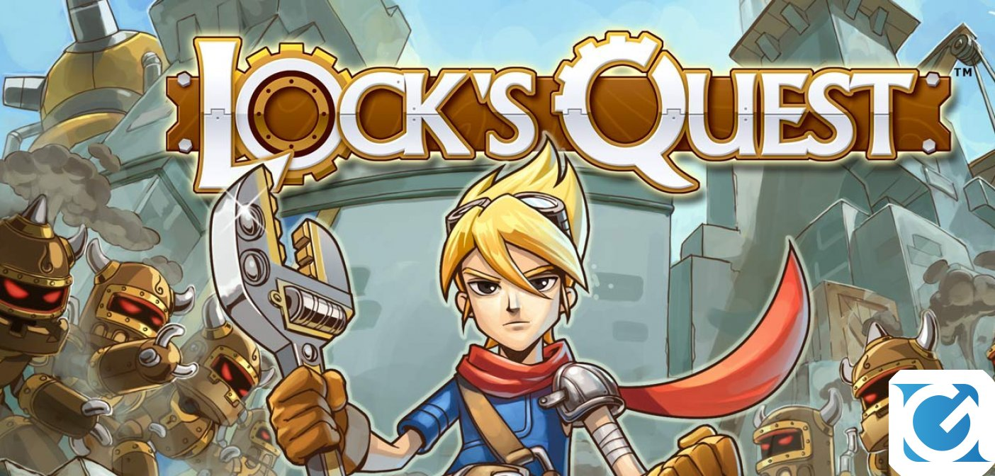 Lock's Quest è disponibile per Android e iOS