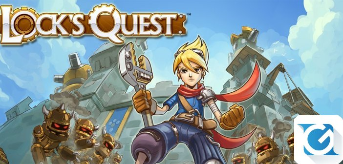 Lock's Quest e' disponibile per XBOX One, Playstation 4 e PC