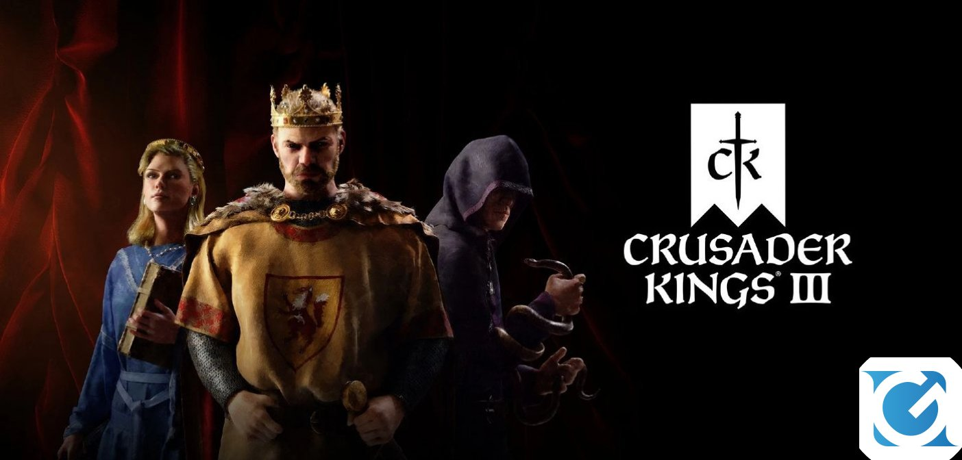 Lunga vita al re! Crusader Kings III è disponibile