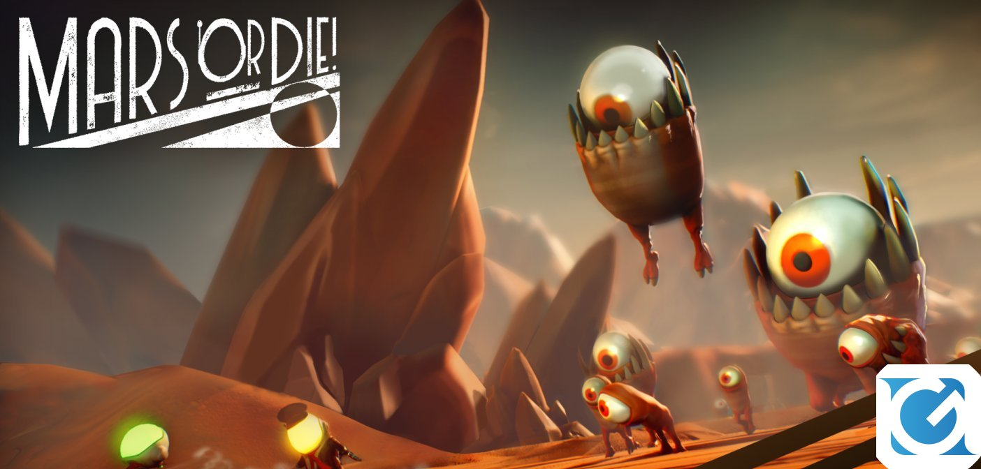 Mars or Die! è disponibile su Nintendo Switch
