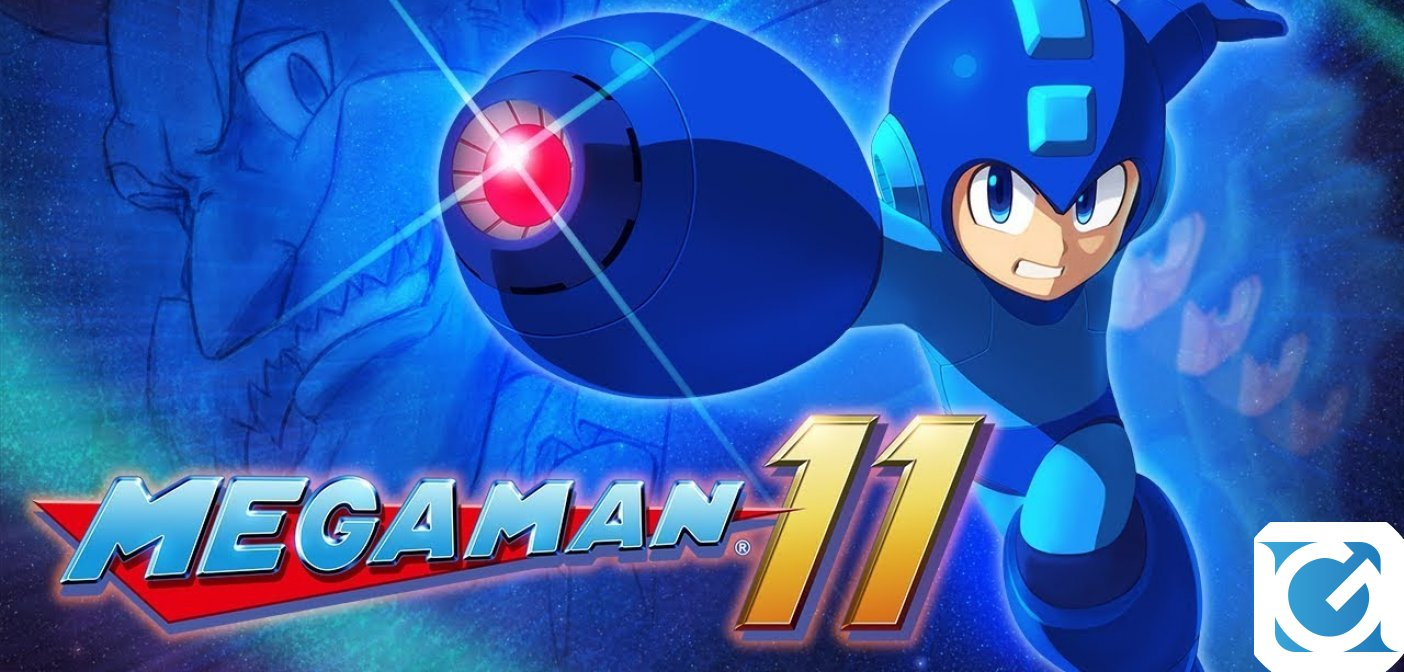 Megaman 11: la demo gratuita e' disponibile per XBOX One, Playstation 4 e Switch