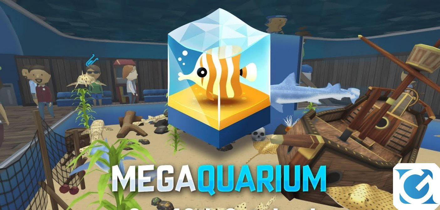 Megaquarium è disponibile per XBOX One, Nintendo Switch e Playstation 4