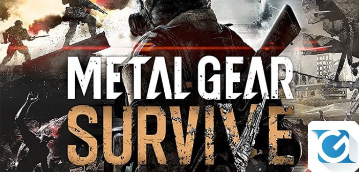 METAL GEAR SURVIVE: Arriva la beta e nuovo video