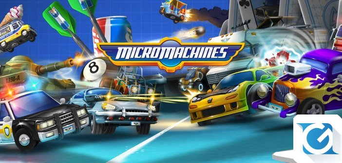Micro Machines World Series arriva su console e PC