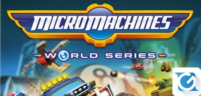 Micro Machines World Series primo gameplay trailer
