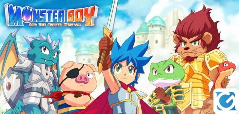 Recensione Monster Boy and the Cursed Kingdom - La classe non è acqua