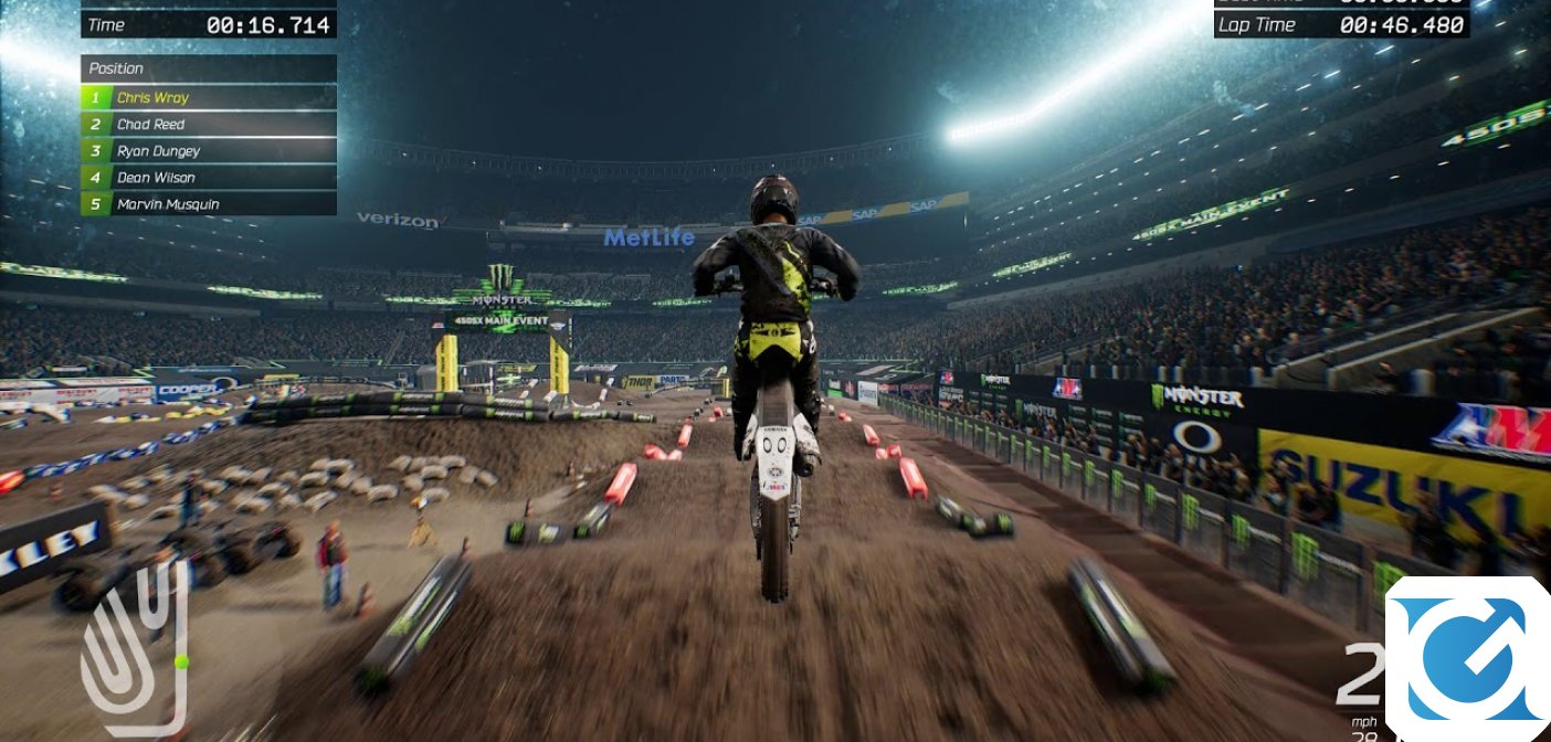 Monster Energy Supercross - The Official Videogame 2: primo video gameplay