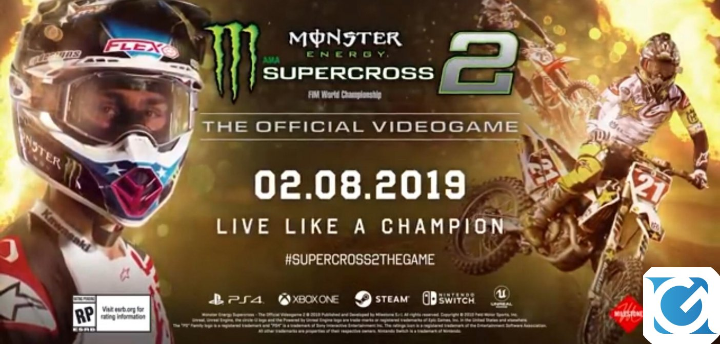 Monster Energy Supercross - The Official Videogame 2: Ecco il Championship trailer