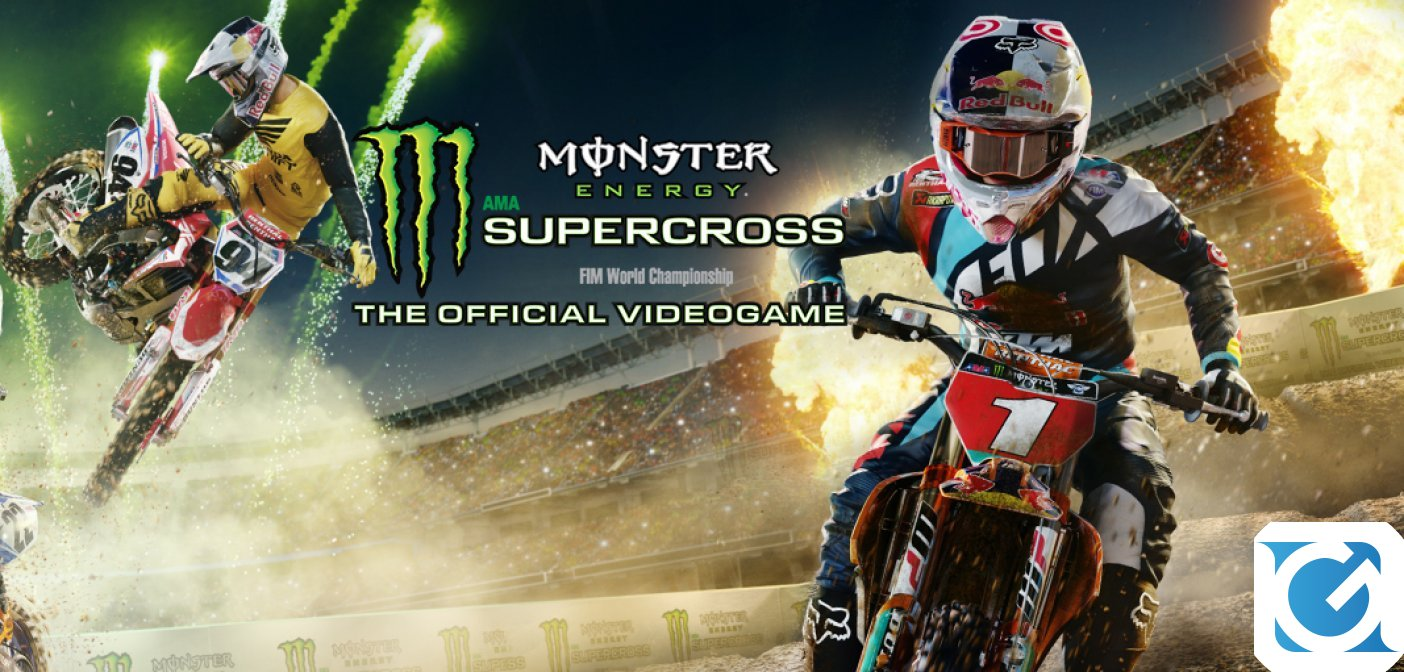 Monster Energy Supercross - The Official Videogame 2 arriva l'8 febbraio
