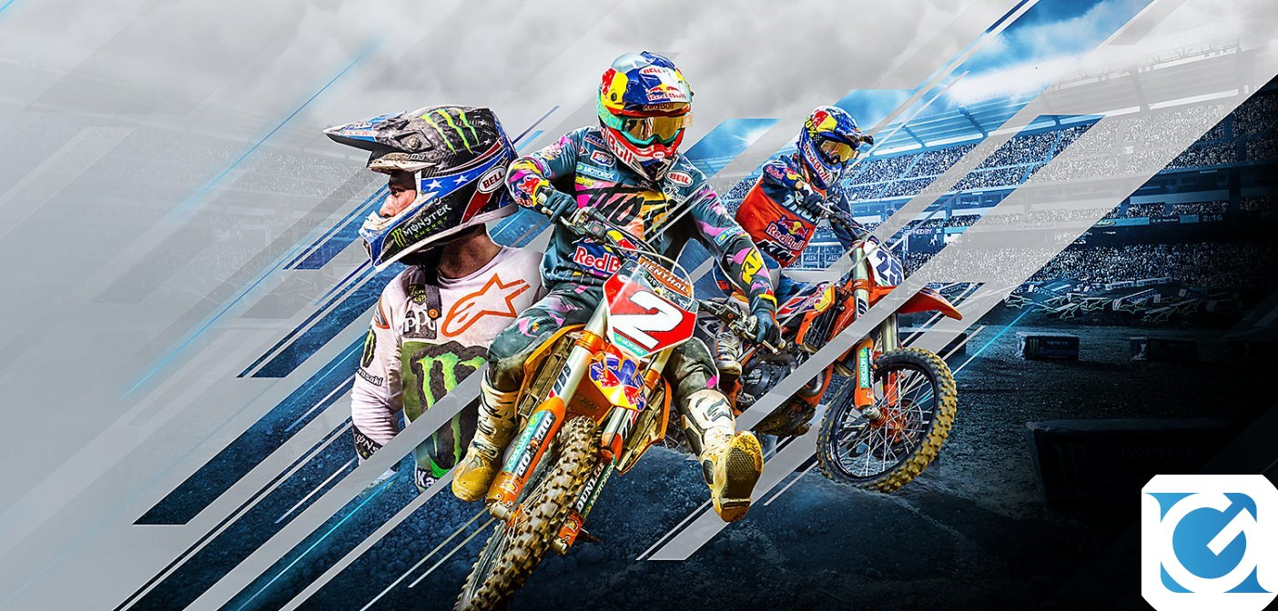 Monster Energy Supercross - The Official Videogame 3 si mostra in un nuovo trailer