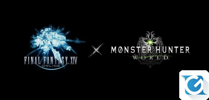 Inizia oggi la collaborazione tra Final Fantasy XIV Online e Monster Hunter World