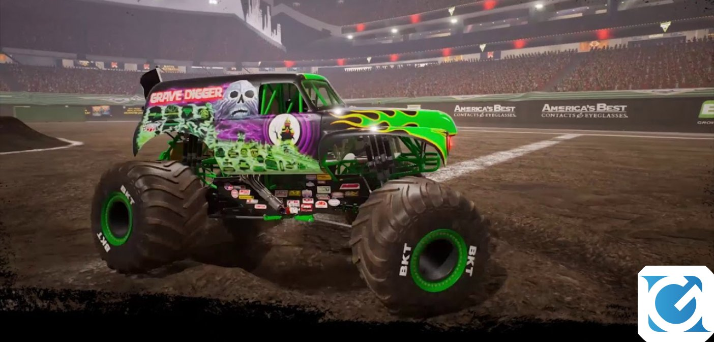 Monster Jam Steel Titans ha una data d'uscita
