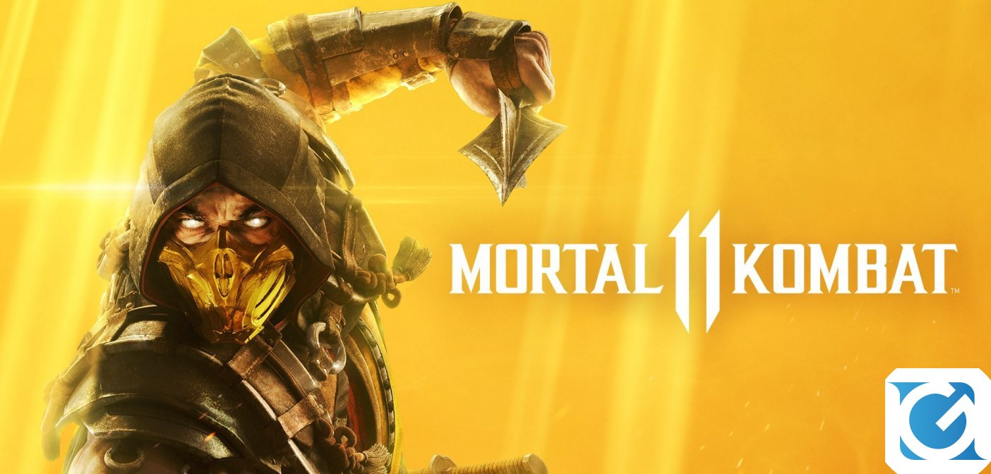 Mortal Kombat 11 è finalmente disponibile