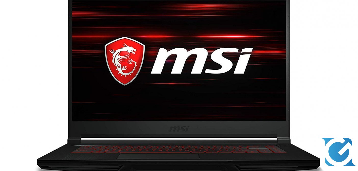 Cyber Monday MSI: MSI GF63 8RC-215IT  in forte sconto