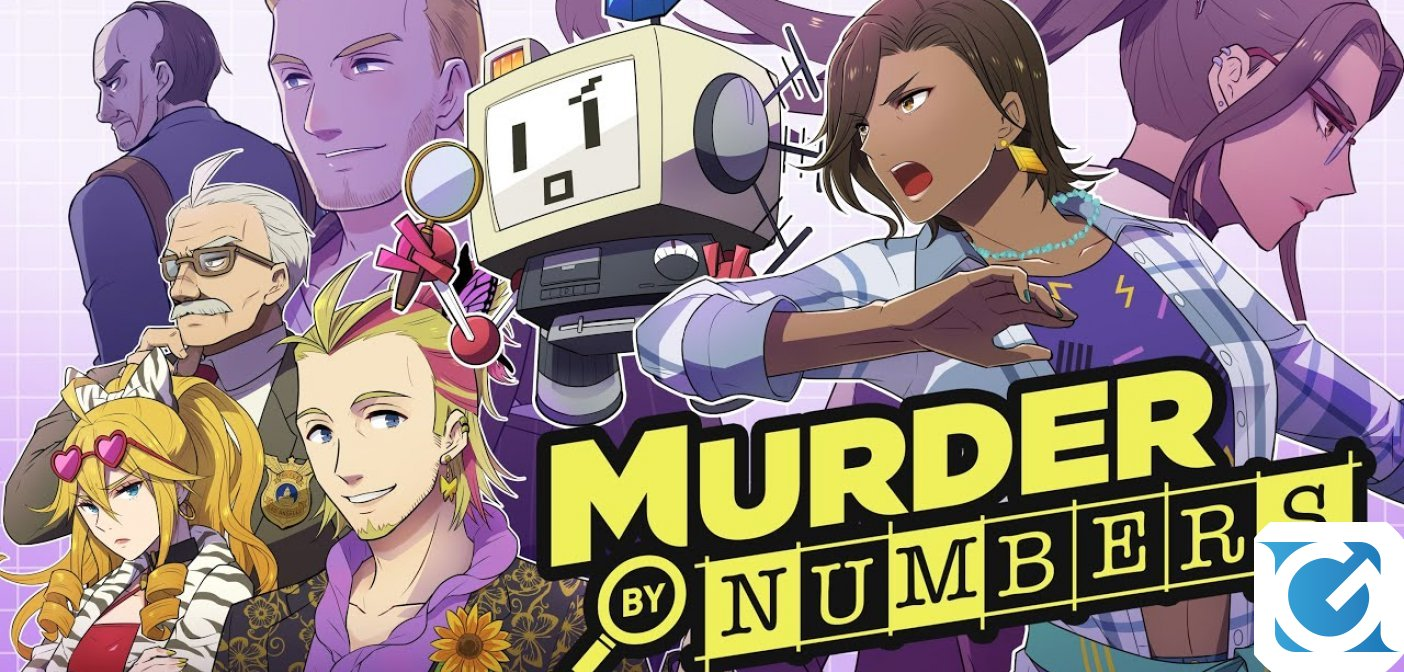 Murder by Numbers annunciato per PC e Switch nel 2020