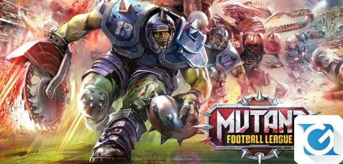 Mutant League Football esce dall'early access per XBOX One e Playstation 4