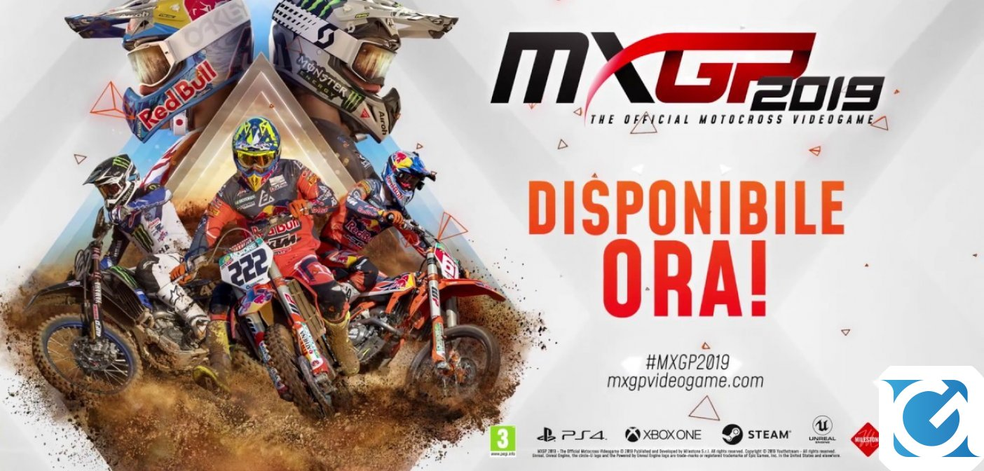 MXGP 2019 è disponibile per PC, XBOX One e Playstation 4