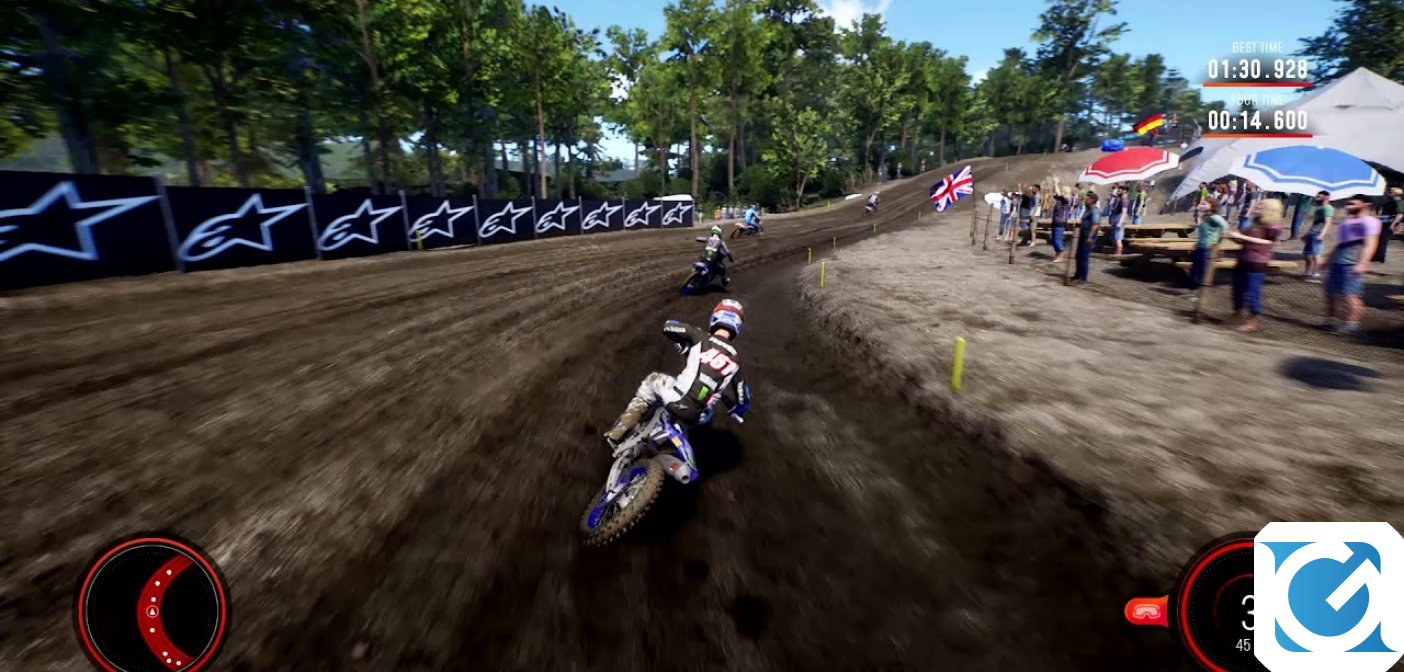 Milestone ha svelato i primi video di gameplay di MXGP 2019