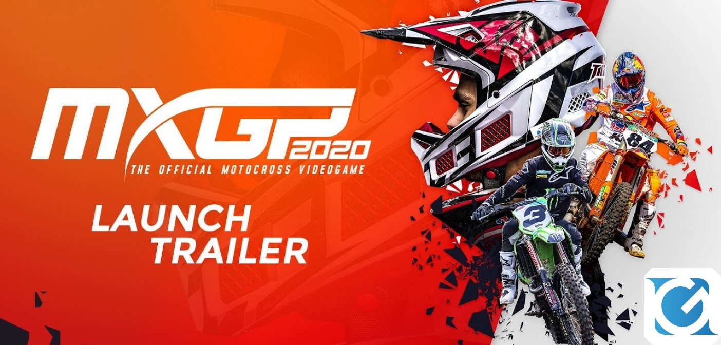 MXGP 2020 è disponibile da oggi su PC e console