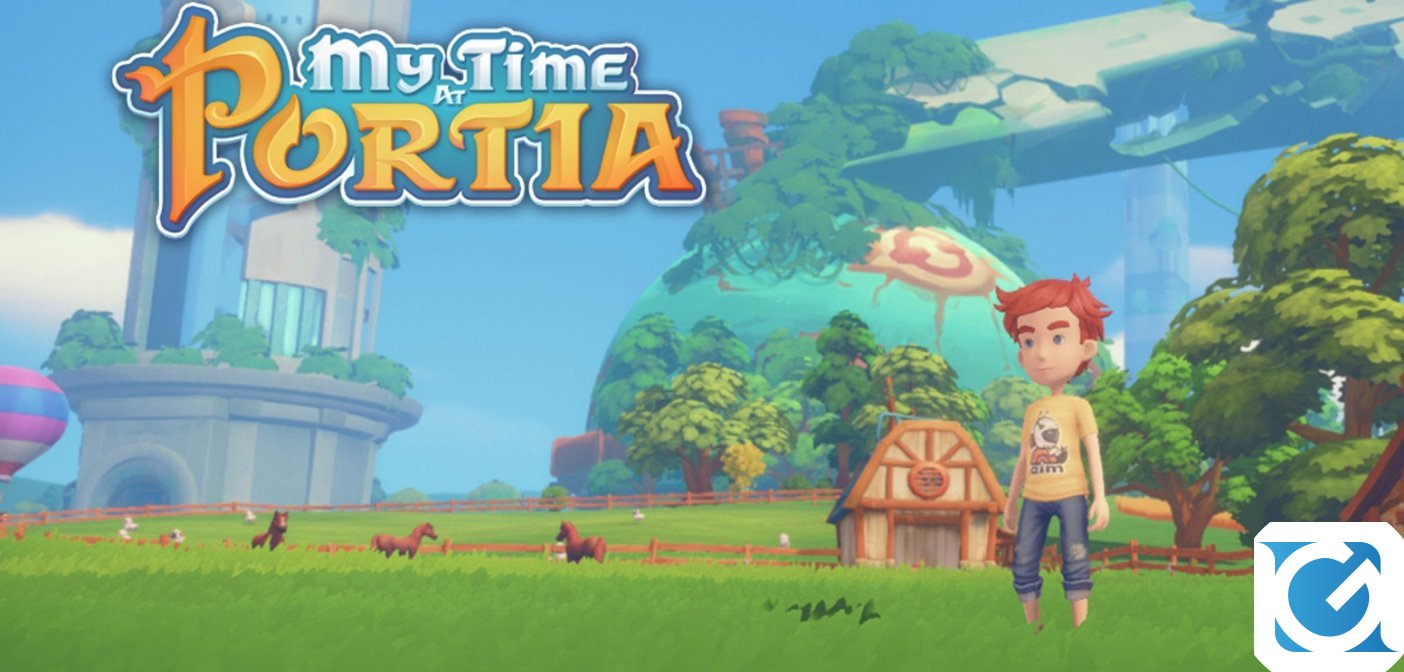 My Time at Portia ha una data di uscita!