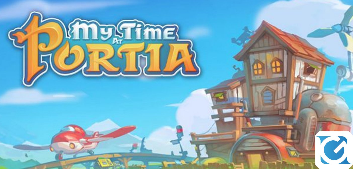 My Time at Portia è disponibile su PC!