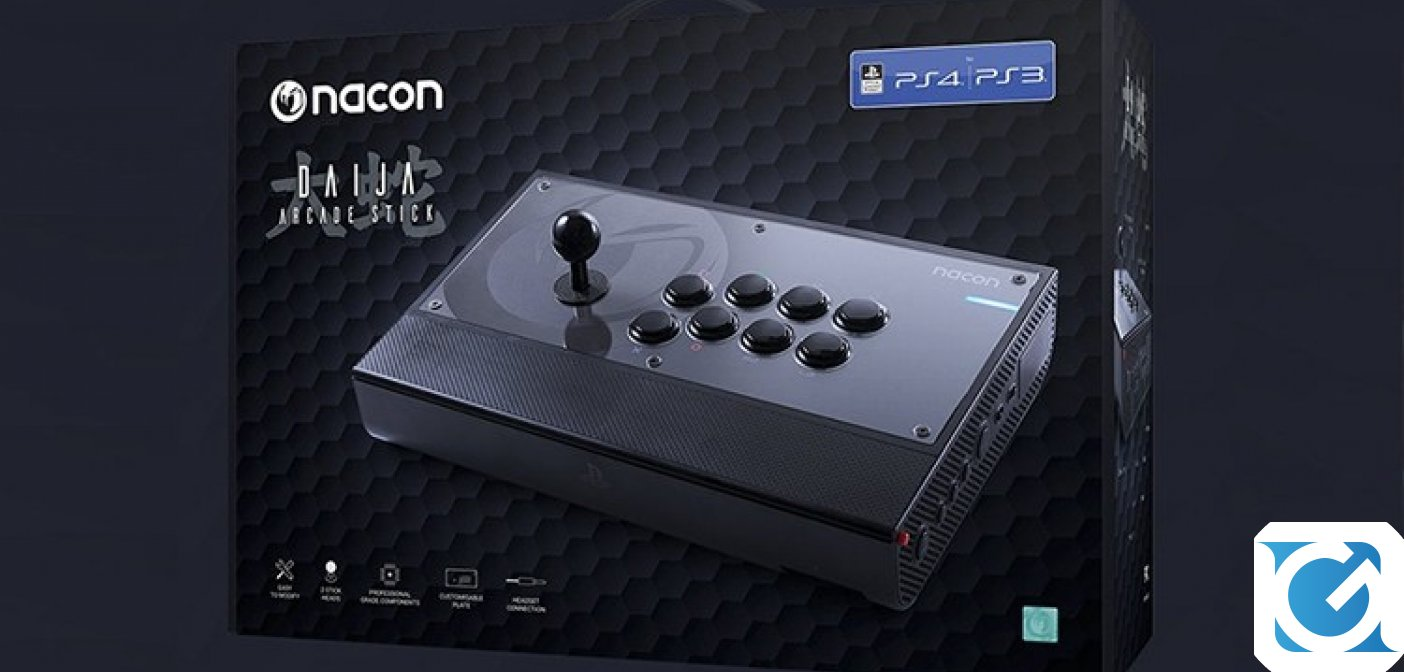 Il Daija Arcade Stick di NACON è disponibile per PS4