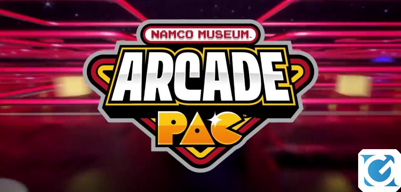 Namco Museum Arcade Pac disponibile per Switch