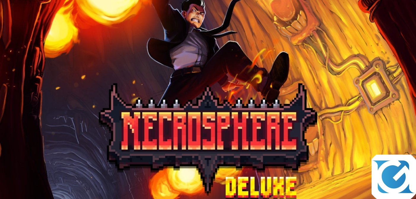Necrosphere Deluxe è disponibile per Switch, PS Vita e PS4