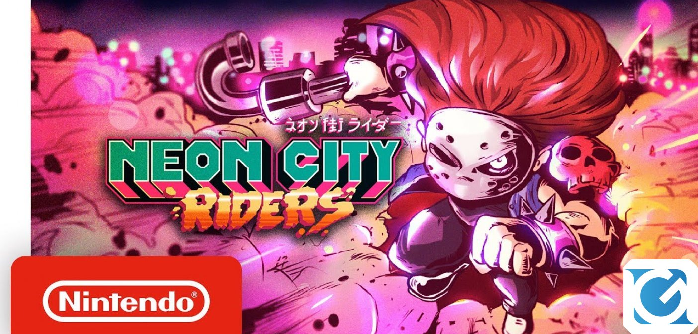 Neon City Riders si aggiorna: ecco Neon City Riders: super-powered edition!