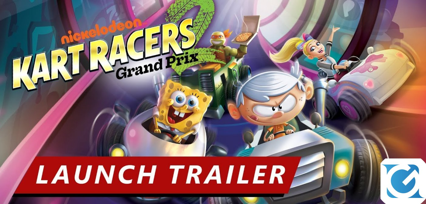 Nickelodeon Kart Racers 2: Grand Prix è disponibile per PS 4, XBOX One e Switch