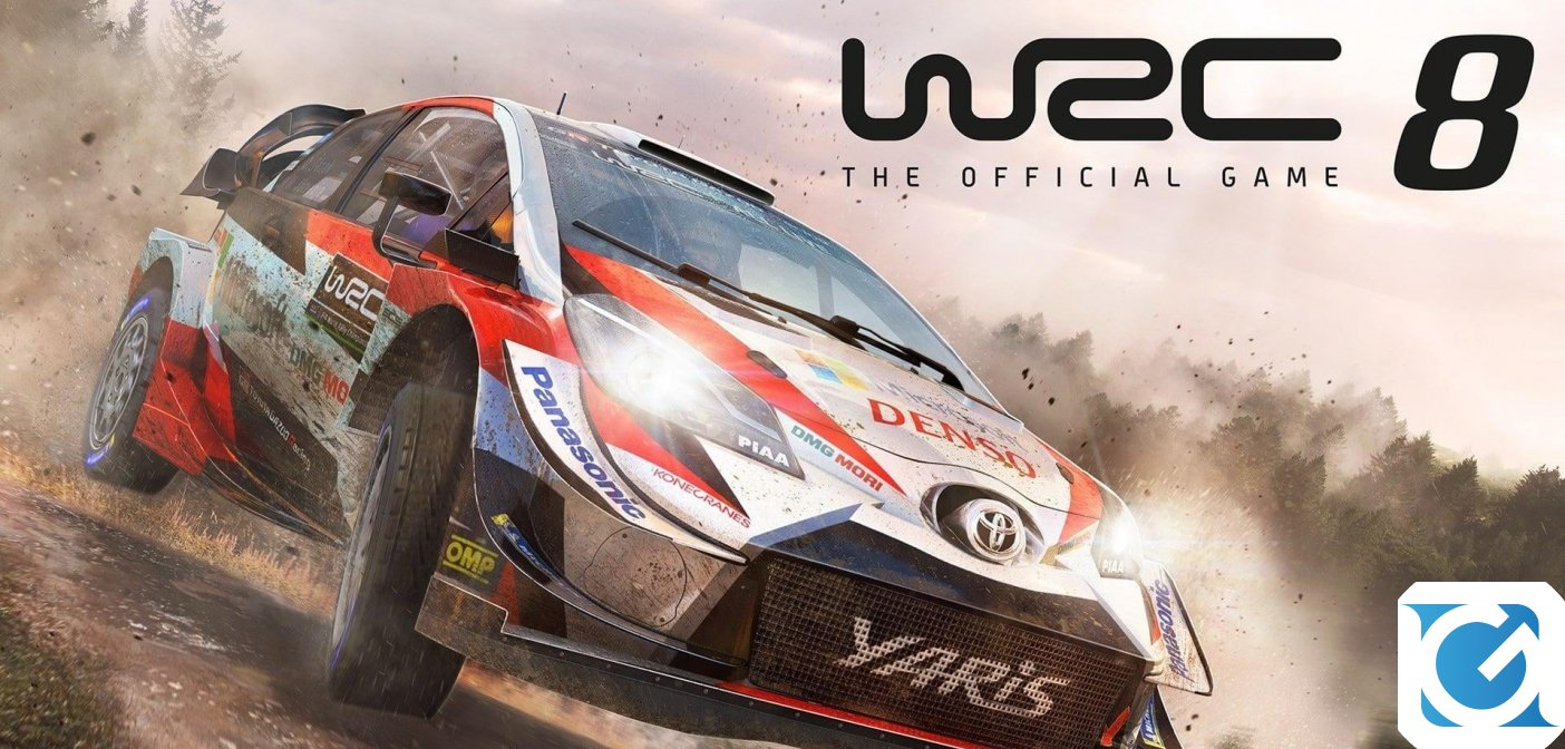 Novità su fisica e level design di WRC 8