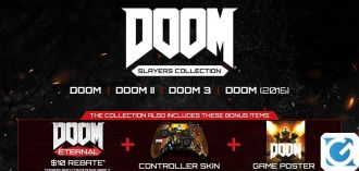 Nuove info su DOOM Slayers Collection e sull'universo di DOOM