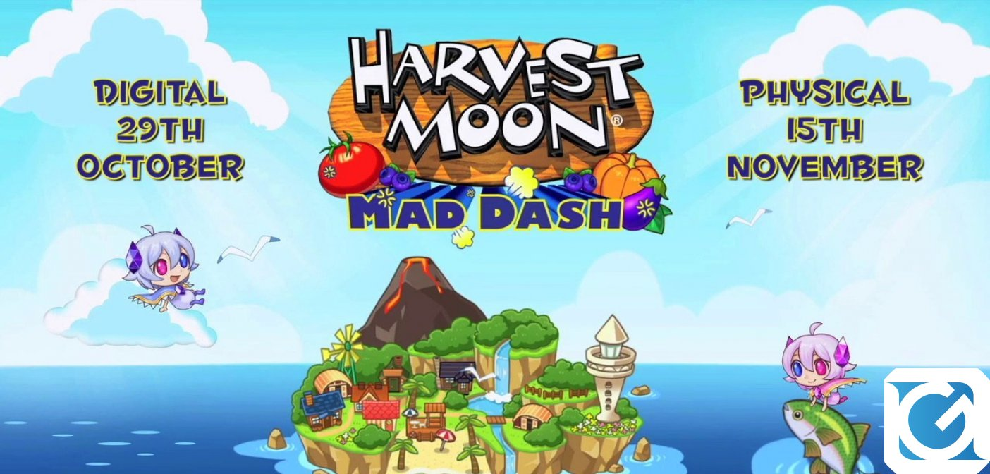 Nuovo trailer e data d'uscita per Harvest Moon: Mad Dash