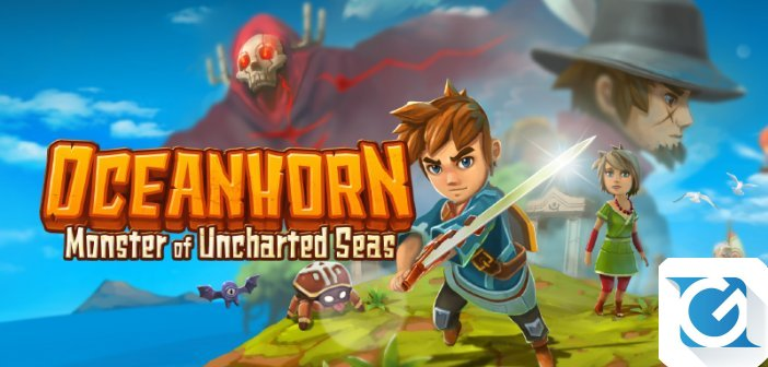 Demo disponibile su XBOX One per Oceanhorn: Mosnter of Uncharted Seas