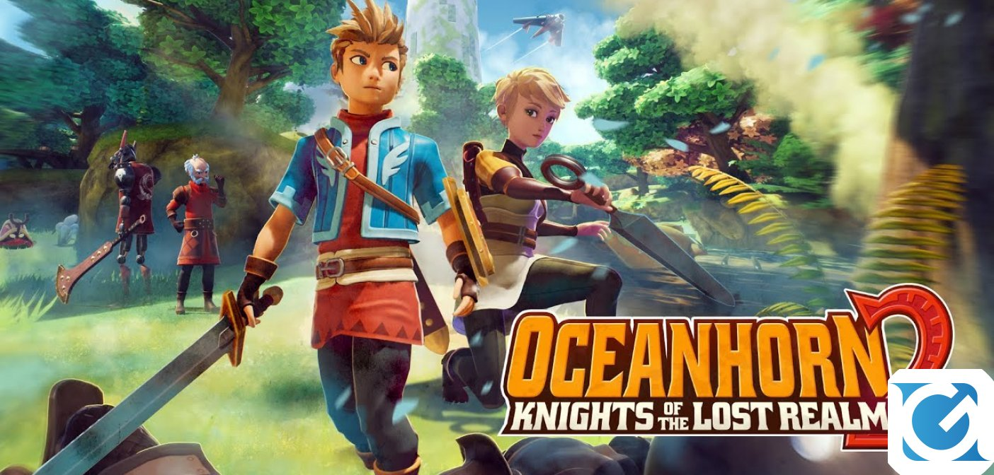 Oceanhorn 2: Knights of the Lost Realm è disponibile per Switch
