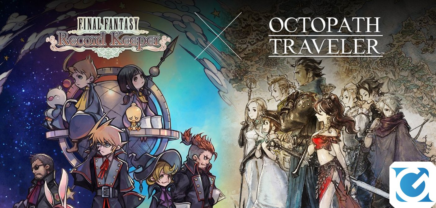 OCTOPATH TRAVELER in arrivo su FINAL FANTASY BRAVE EXVIUS