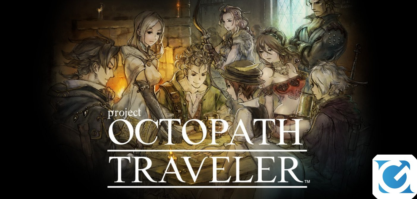 OCTOPATH TRAVELER arriva su PC a giugno