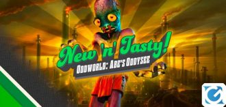 Oddworld: New 'n' Tasty è disponibile su Nintendo Switch