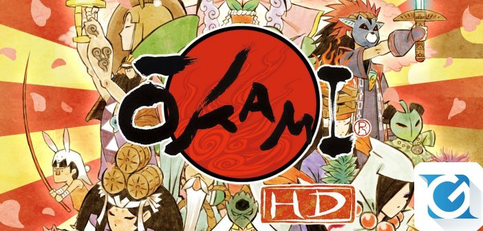 Okami HD arriva questa estate su Nintendo Switch