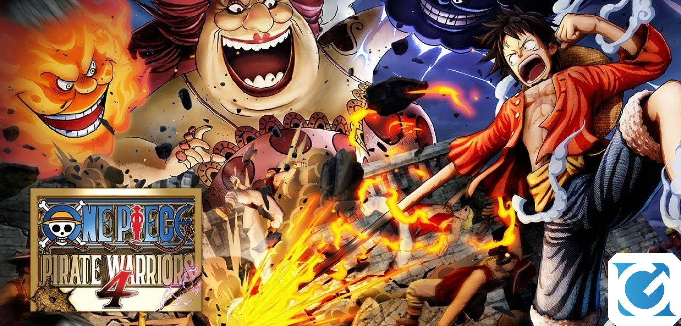 BANDAI Namco ha annunciato ONE PIECE: PIRATE WARRIORS 4