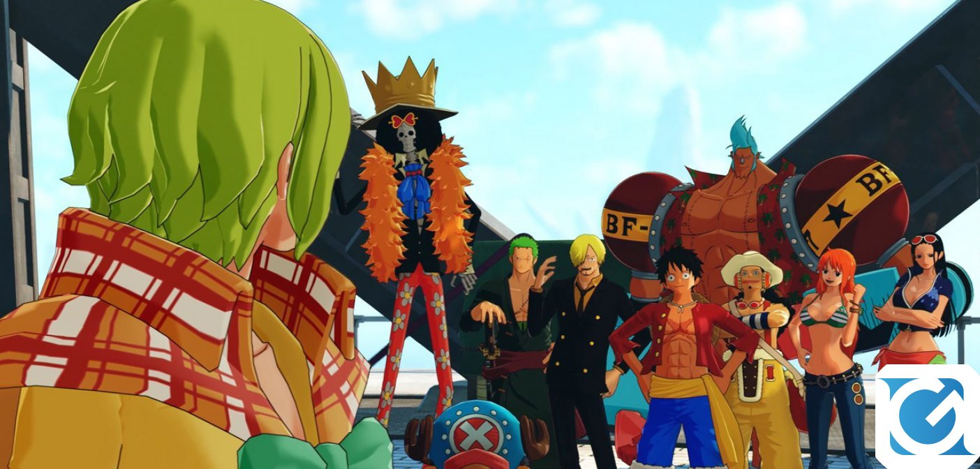ONE PIECE WORLD SEEKER: ecco il trailer di lancio