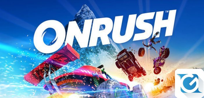 ONRUSH e' disponibile per XBOX One e Playstation 4