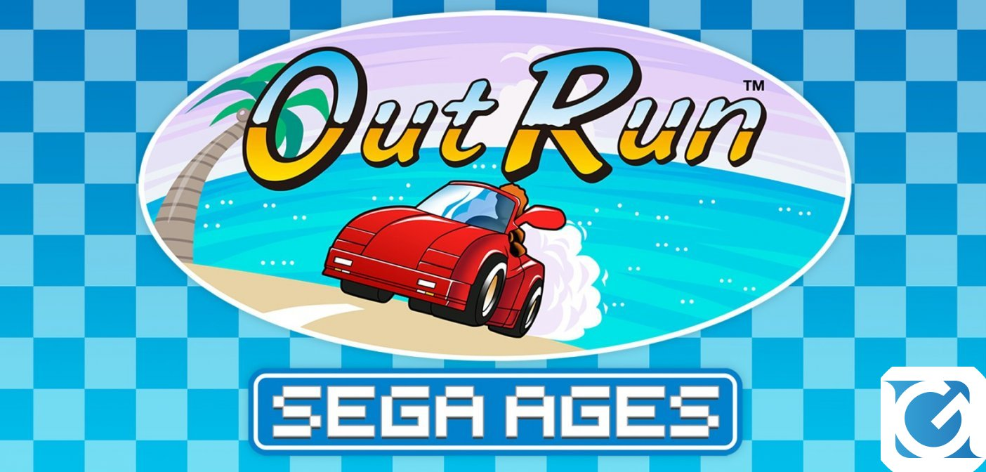 Out Run arriva su Switch con SEGA Ages