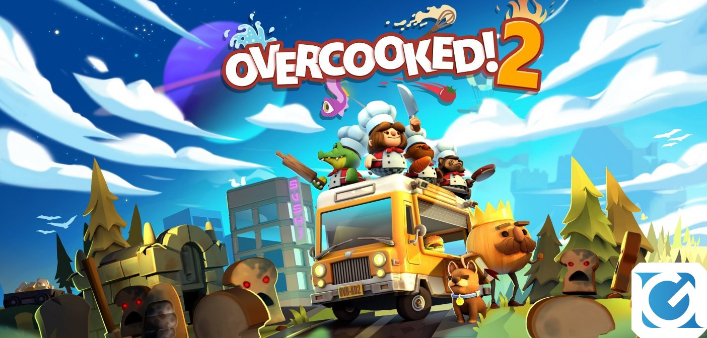 Overcooked 2 e' disponibile!