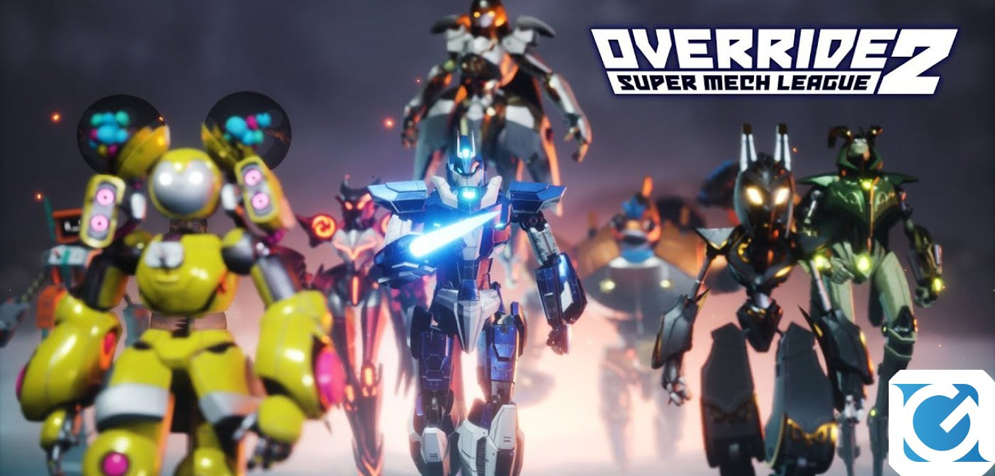 Override 2: Super Mech League è ora disponibile