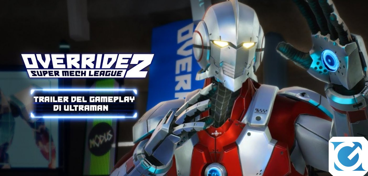 Override 2: Super Mech League rivela il primo trailer del gameplay con il crossover di Ultraman